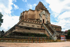 Wat Chedi Luang Royalty Free Stock Photography