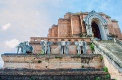 Wat Chedi Luang. Fotografia Stock