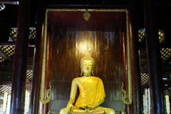 Wat Chedi Luang 免版税库存图片