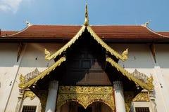 Wat Chedi Luang Fotos de archivo