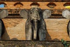 Wat Chedi Luang Стоковое Изображение