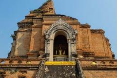 Wat Chedi Luang Стоковое Изображение RF