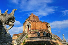 Wat Chedi Luang Photos stock
