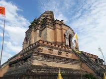 Wat Chedi Luang Stock Afbeelding