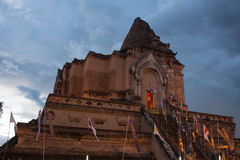 Wat Chedi Luang Photo stock