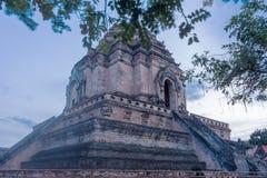 Wat Chedi Luang Imágenes de archivo libres de regalías