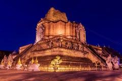 Wat Chedi Luang Image libre de droits