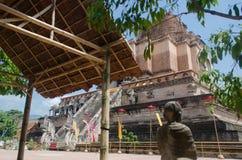 Wat Chedi Luang Foto de archivo libre de regalías