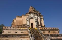 Wat Chedi Luang, alter Tempel Stockbilder