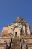 Wat Chedi Luang, alter Tempel Stockbild