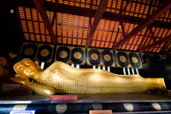 Wat Chedi Luang buddhist temple Stock Photography