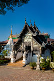 Wat Chedi Luang buddhist temple Stock Images