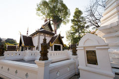 Wat Chedi Luang buddhist temple Royalty Free Stock Photo