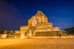 Wat Chedi Luang, a Buddhist temple Royalty Free Stock Photo