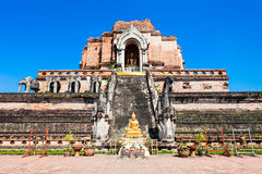 Wat Chedi Luang Royalty Free Stock Photography