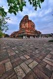 Wat Chedi Luang, Chiang Mai 免版税库存照片
