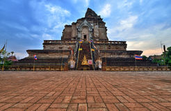 Wat Chedi Luang, Chiang Mai Photo libre de droits