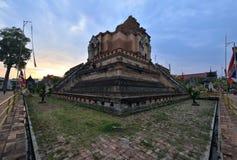 Wat Chedi Luang, Chiang Mai Photos libres de droits