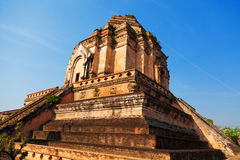 Wat Chedi Luang, Chiang Mai Royalty Free Stock Photography