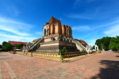 Wat Chedi Luang. At Chiang Mai - North Thailand Royalty Free Stock Photo