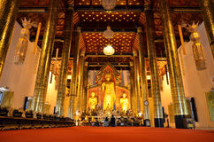 Wat Chedi Luang Chiang Mai Temple Thailand Royalty Free Stock Photo