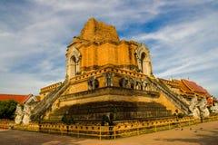 Wat Chedi Luang in Chiang Mai, Thailand royalty-vrije stock afbeeldingen