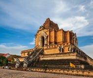 Wat Chedi Luang. Chiang Mai, Thailand Stock Photography