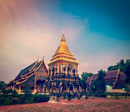 Wat Chedi Luang. Chiang Mai, Thailand Stock Photo