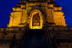 Wat Chedi Luang, Chiangmai Fotografia Stock