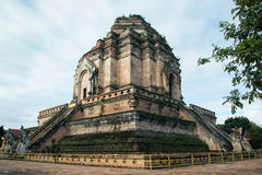 Wat Chedi Luang in chiangmai Stock Photo