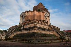 Wat Chedi Luang in chiangmai Royalty Free Stock Image