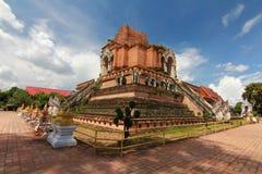 Wat chedi luang chiangmai thailand Stock Images