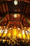 Wat Chedi Luang , Chiangmai , Thailand Royalty Free Stock Photos