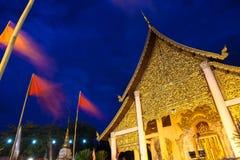 Wat Chedi Luang during City Pillar Festival, Chiang Mai Stock Photos