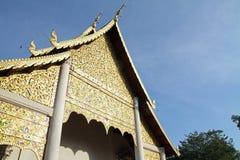 Wat Chedi Luang en Chiang Mai fotos de archivo