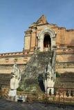 Wat Chedi Luang en Chiang Mai foto de archivo libre de regalías