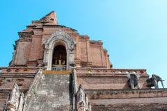 Wat Chedi Luang en Chiang Mai, Tailandia Fotografía de archivo