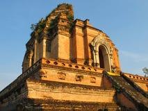 Wat Chedi Luang in MAI Chiang Stock Afbeeldingen