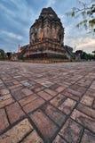 Wat Chedi Luang, mai Chiang Стоковая Фотография