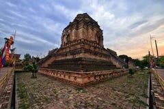 Wat Chedi Luang, mai Chiang Στοκ Εικόνες