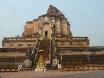 Wat Chedi Luang, MAI di Chaing, Tailandia Immagine Stock