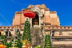 Wat Chedi Luang n Chiang Mai, Thailand Stock Photo