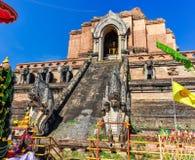 Wat Chedi Luang n Chiang Mai, Thailand Royalty Free Stock Image