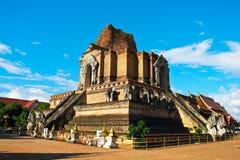 Wat Chedi Luang Royalty Free Stock Images