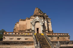 Wat Chedi Luang, old temple Stock Images