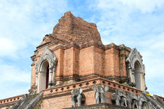 Wat Chedi Luang  pagoda Royalty Free Stock Photography