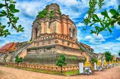 Wat Chedi Luang Tempel Lizenzfreies Stockfoto