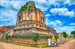 Wat Chedi Luang Tempel Lizenzfreies Stockbild