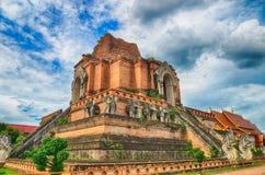 Wat Chedi Luang Tempel Stockfotos