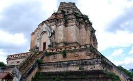 Wat Chedi Luang Tempel stockfotografie